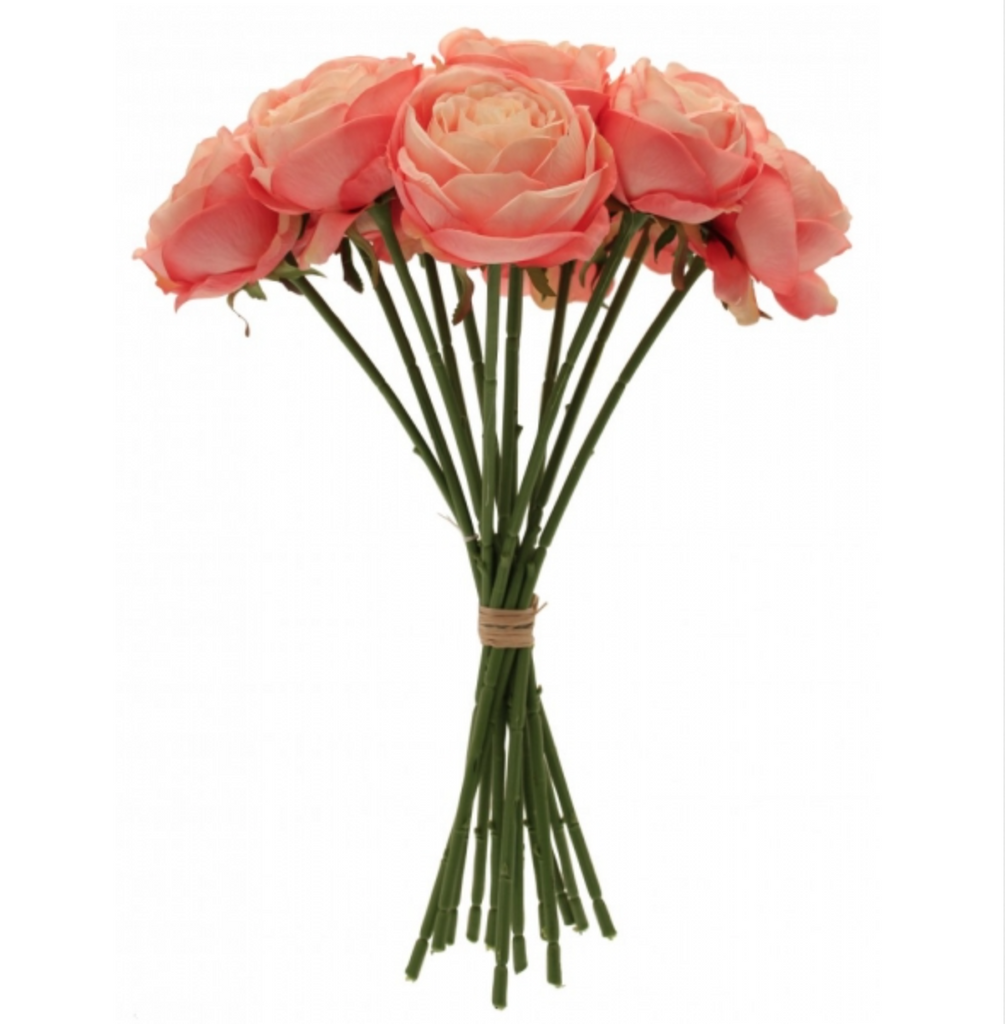 Pink Tea Rose Bunch x12 - Wedding Boutique