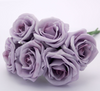 Small Foam Roses in Lilac x6 - Wedding Boutique
