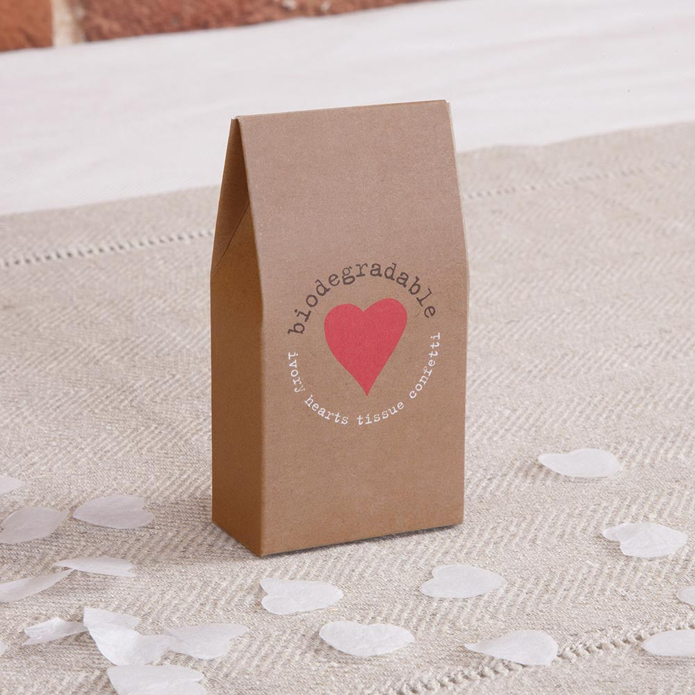 Kraft Tissue Throwing Confetti - Wedding Boutique