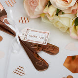 Geo Blush Thank You Tags x10 - Wedding Boutique