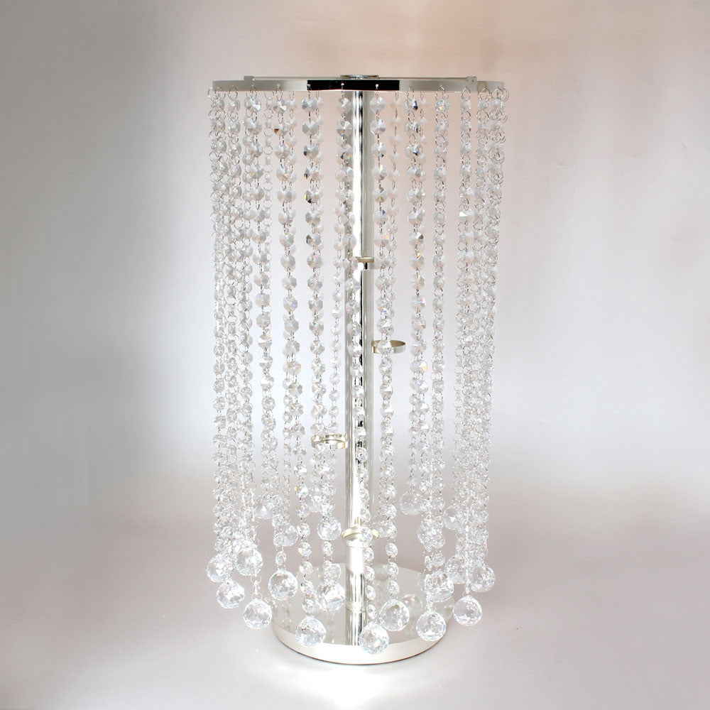 Crystal Table Chandelier - Wedding Boutique