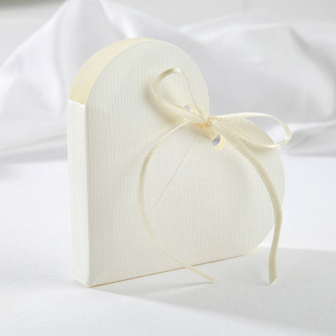 Heart Place Cards in Ivory x10