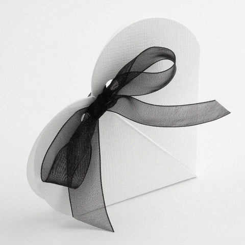 Heart Place Cards in White x10
