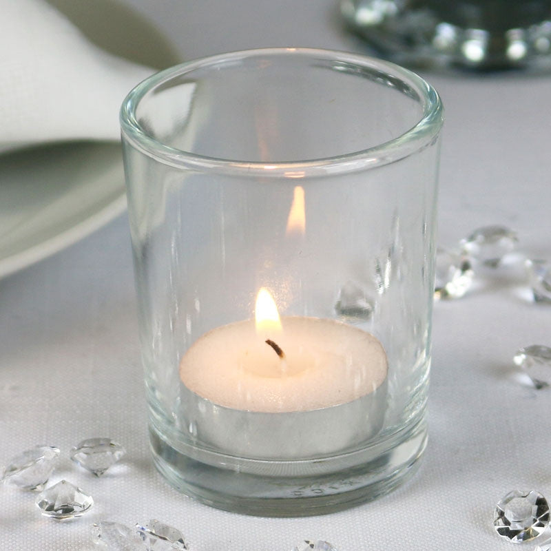 Glass Tea Light Holder - Wedding Boutique