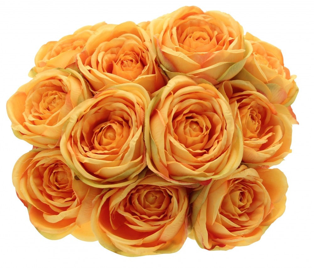 Golden Yellow Tea Rose Bunch x12 - Wedding Boutique