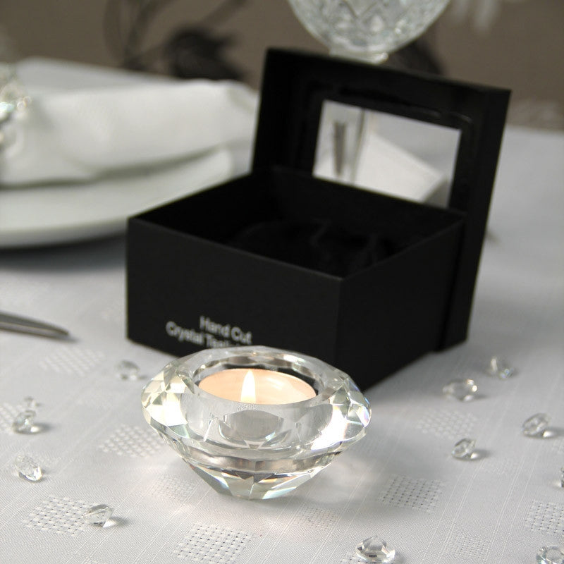 Crystal Tea Light Holder - Wedding Boutique