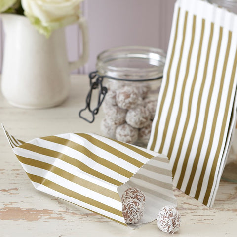 Organza Favour Bags in Ivory