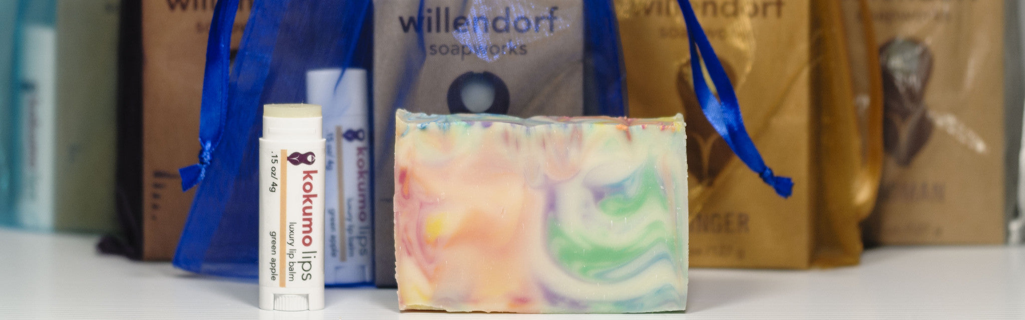 Soap and Lip Balm Gift Bundle