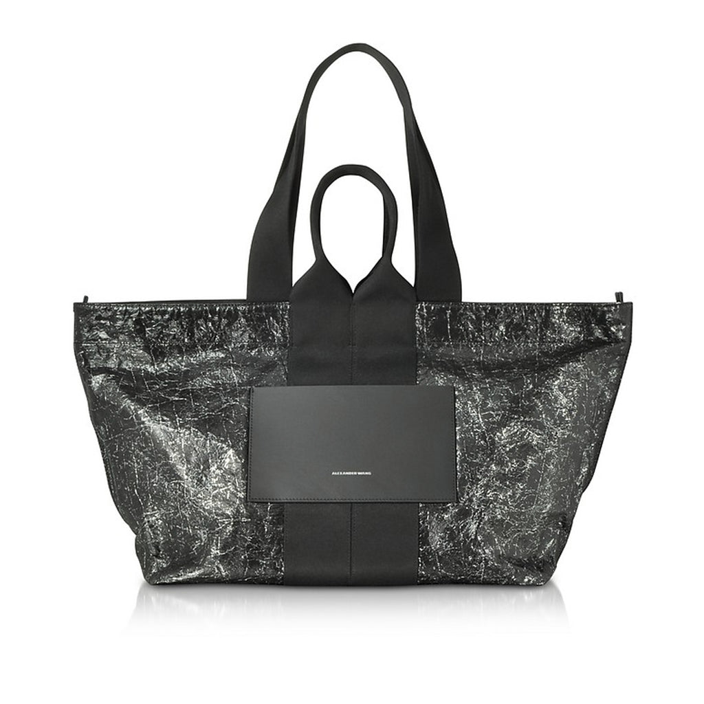 Functional and Stylish Black Leather Totes around $500