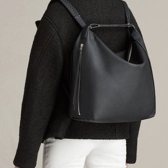 The Perfect Convertible Leather Handbag / Backpack