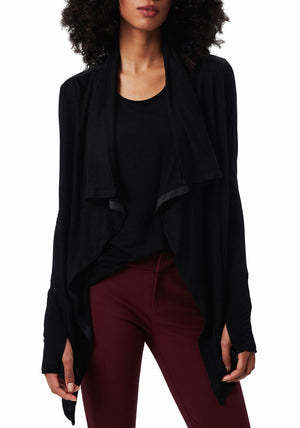 Good-to-Go Cardi Jet Black