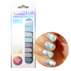 Rainbow Holo Metallic Nail Wraps