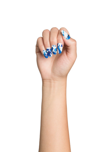 Indiko Watercolour Nail Wraps