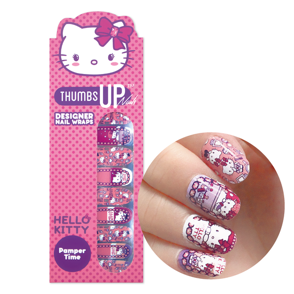 Hello Kitty Special Edition Pamper Time Nail Wraps