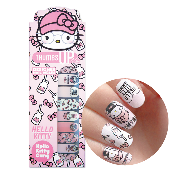 Hello Kitty Special Edition Hello Kitty Gang Nail Wraps
