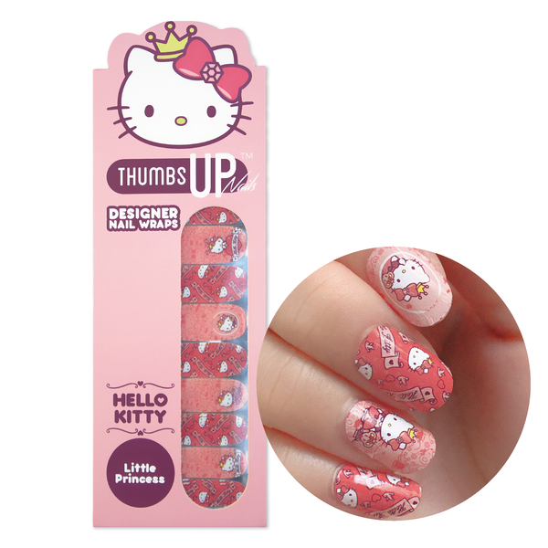 Hello Kitty Special Edition Little Princess Nail Wraps