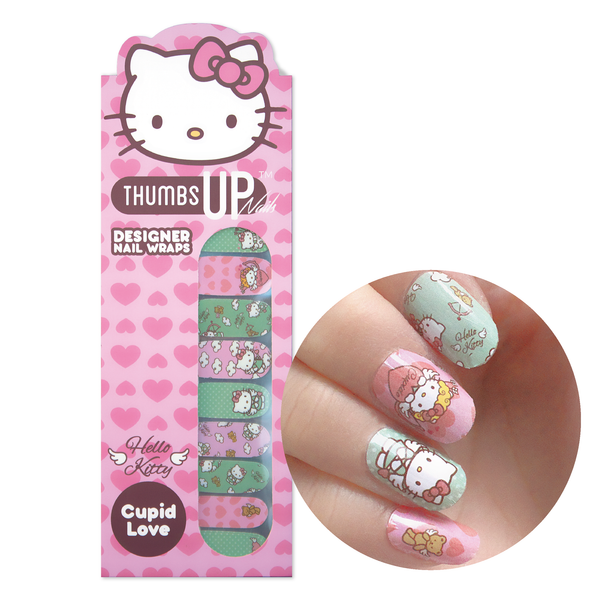 Hello Kitty Special Edition Cupid Love Nail Wraps