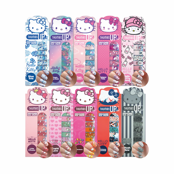Hello Kitty Special Edition Nail Wraps Pack