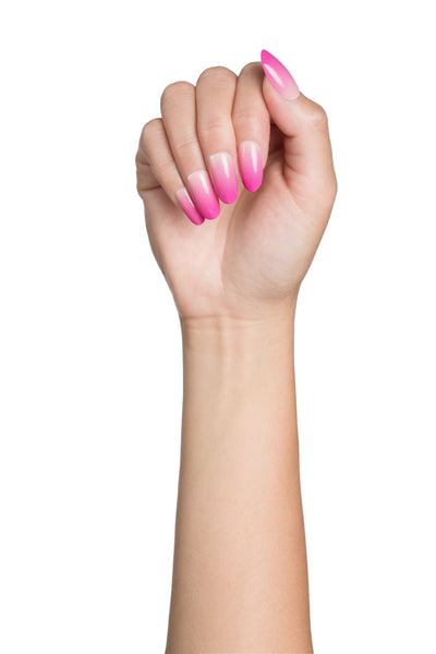 High Shine Effect - Blush Lush Ombre Nail Wraps