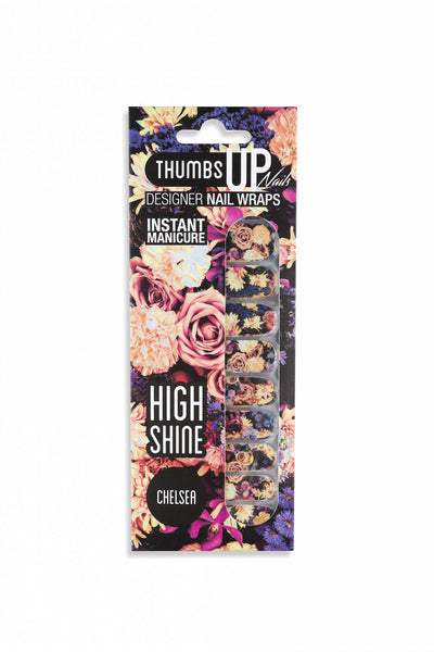 High Shine Effect - Chelsea Nail Wraps