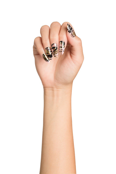 High Shine Effect - Galactic Power Metallic Nail Wraps Pack