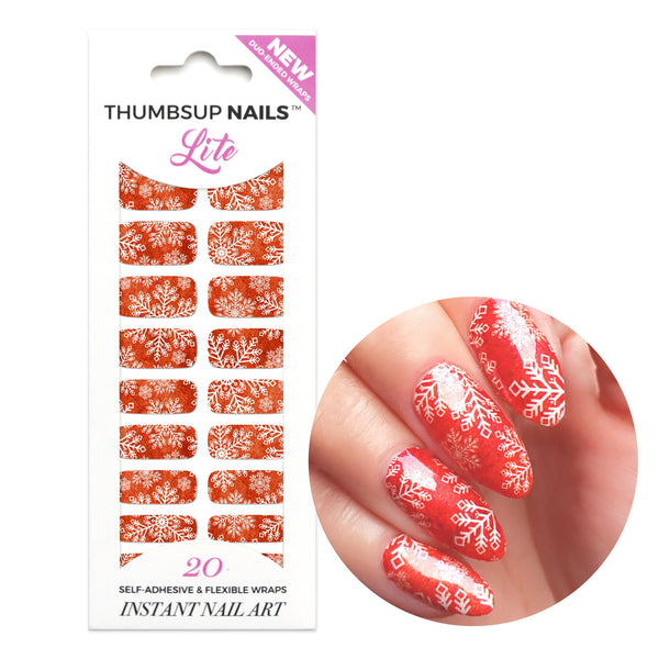 High Shine Effect - Its Christmas Nail Wraps