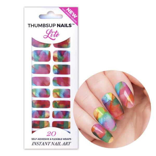 High Shine Effect - Let's Paint Nail Wraps