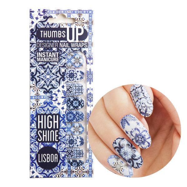 High Shine Effect - Lisboa Nail Wraps