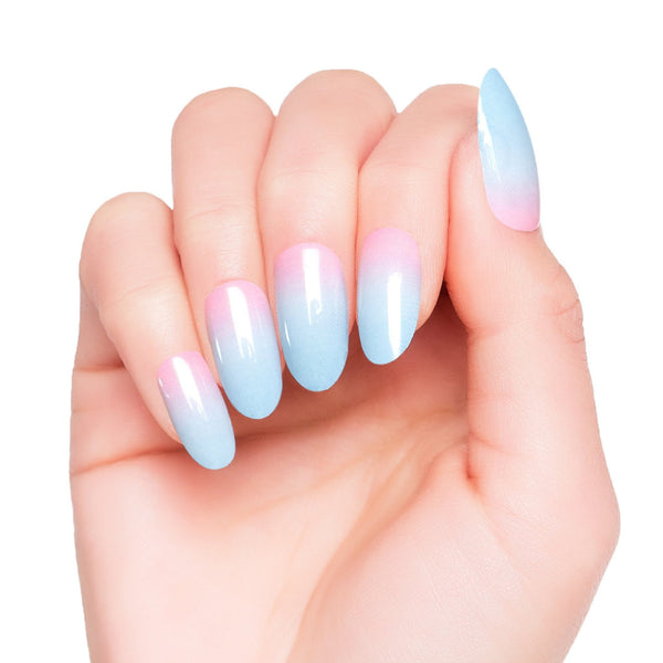 High Shine Effect - Mallow Nail Wraps