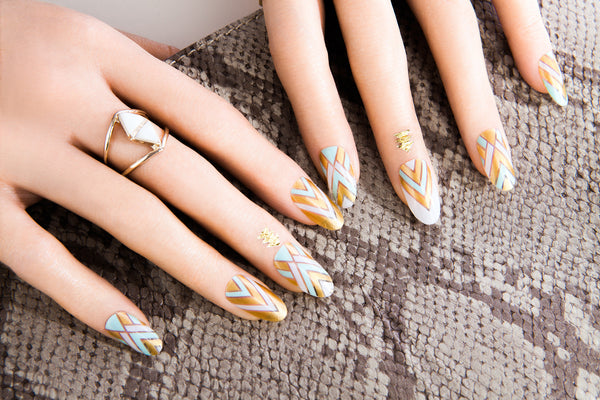 Metallic - Cleo Nail Wraps