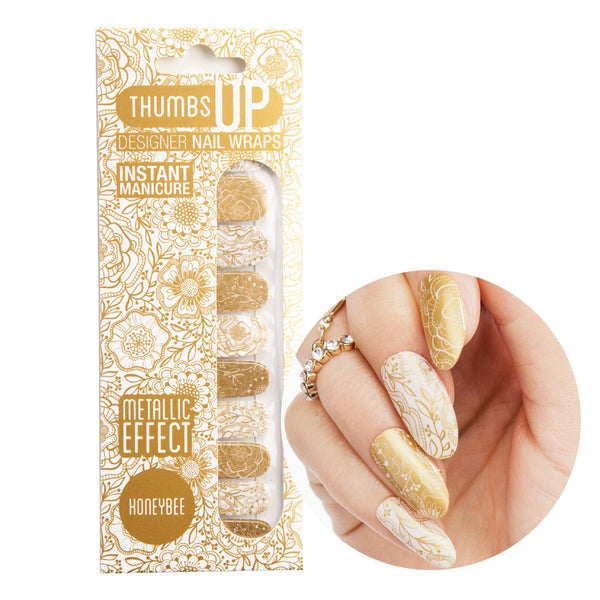Metallic - Honeybee Nail Wraps