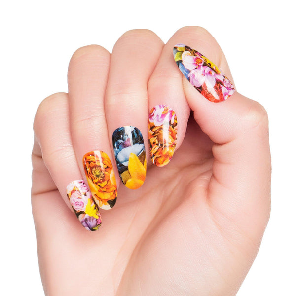 Multi-pack - Floral Nail Wraps Pack