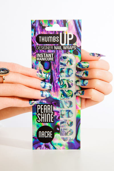 Multi-pack - Pearlescent Nail Wraps Pack