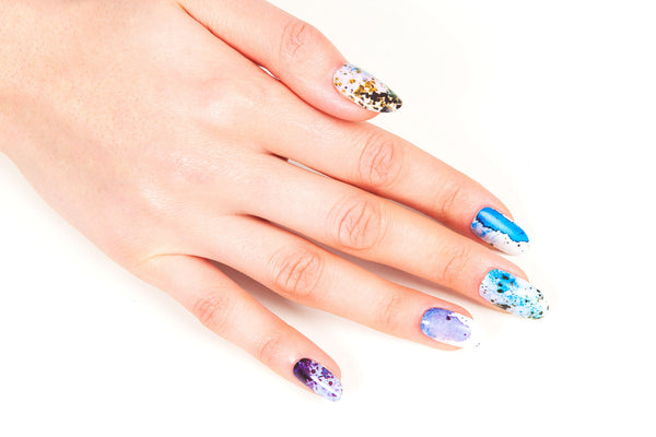 Multi-pack - Rock & Roll Nail Wraps Pack