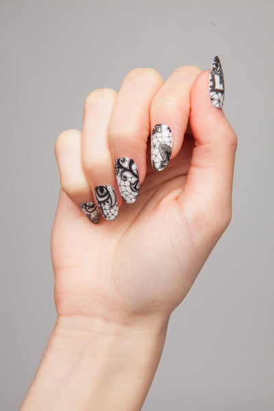 Overlay Effect - Henna Nail Wraps