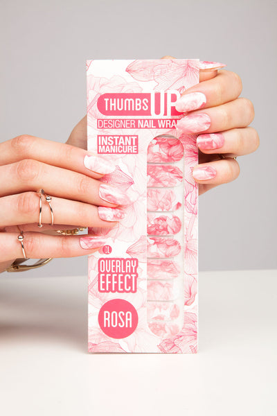 Overlay Effect - Rosa Nail Wraps