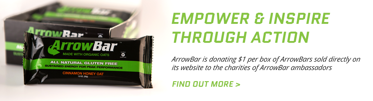 Empower and inspire with ArrowBar charity opportunites