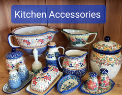 Kitchen Accessories i.e., Butter Dishes, Salt & Pepper Sets, Spoon Rests and More
