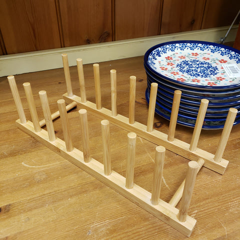 Plate Stand bamboo