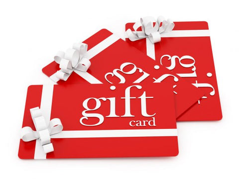 Gift Card send via email