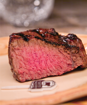 USDA Approved Beef at Medium Doneness Level