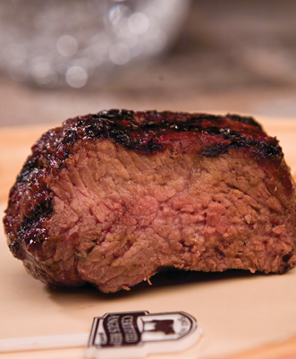 USDA Approved Beef at Well Done Doneness Level