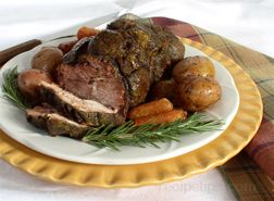Lamb Cooked to Well Done