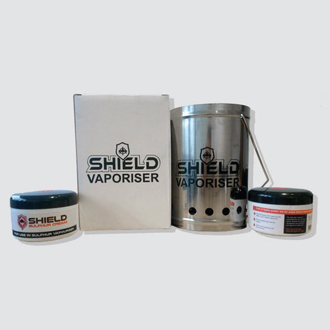 Shield Vaporiser & Sulphur Cream