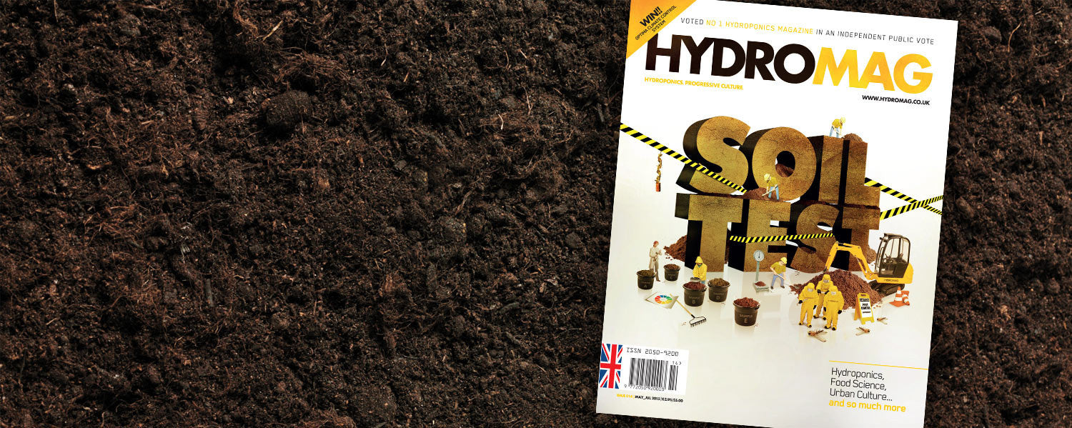 Hydroponic soils tested