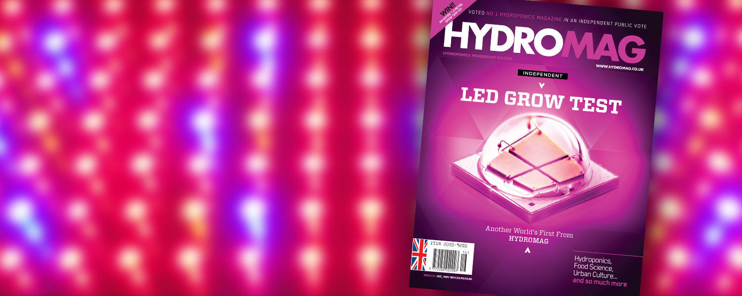 Hydroponic LEDS Tested