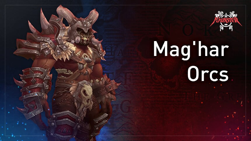 Mag'har orcs allied race bfa