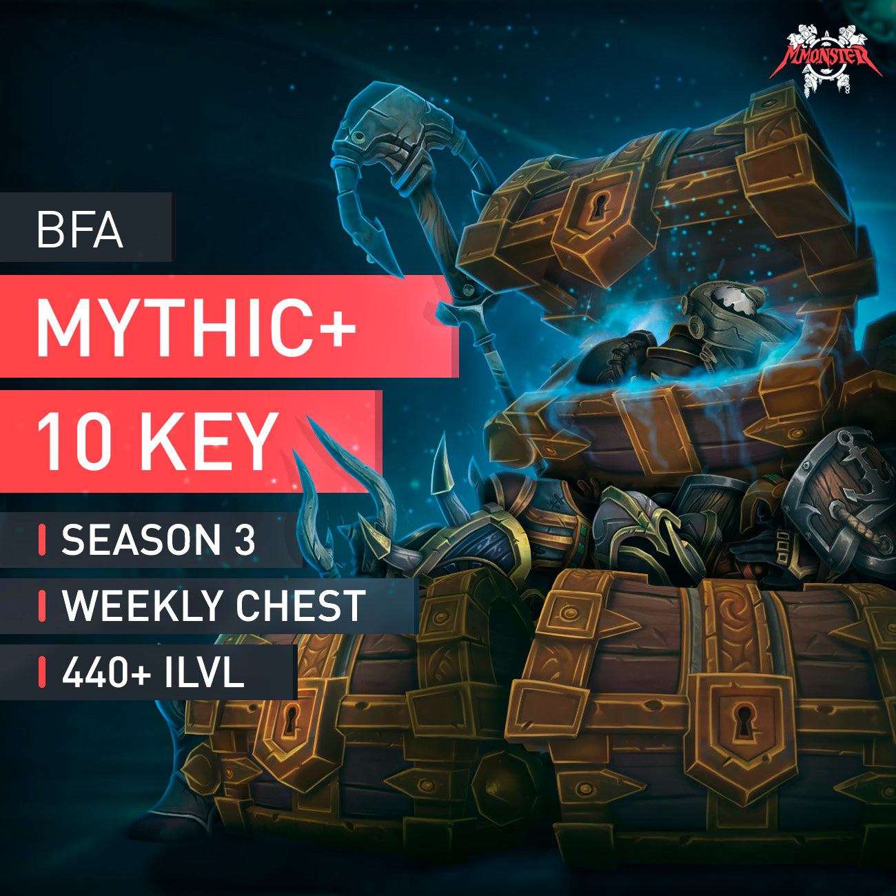 Mythic+ 10 plus ten boost - MmonsteR