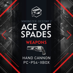 Destiny 2 Ace of Spades Exotic Hand Cannon