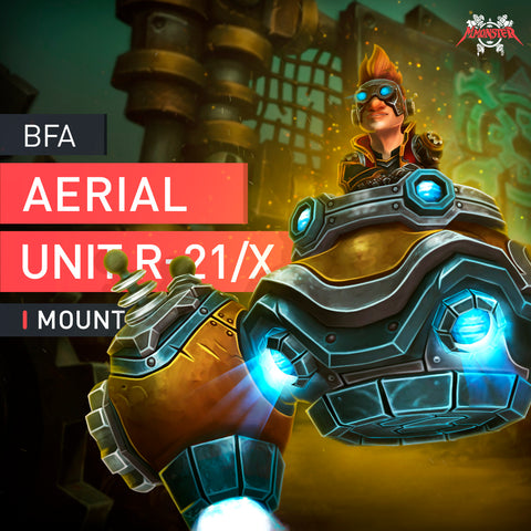 Aerial Unit R-21/X Mount boost - MmonsteR
